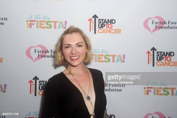 Actress Chantelle Albers lattends Farrah Fawcett Foundation's TexMex Fiesta honoring Stand Up To Cancer at Wallis Annenberg Center for the Performing...