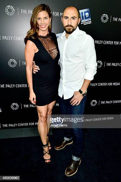 Actress Charisma Carpenter and television personality Mike Rossi attend the Paley Center for Media Presents 'OJ The Trial Of The Century Twenty Years...