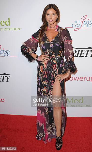 Actress Charisma Carpenter arrives at AltaMed Health Services' Power Up We Are The Future Gala at the Beverly Wilshire Four Seasons Hotel on May 12...