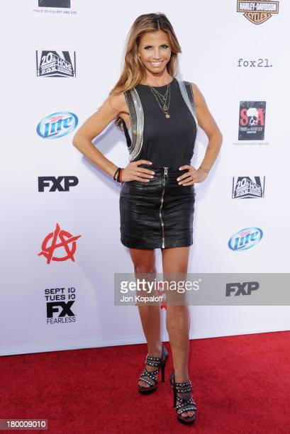 Actress Charisma Carpenter arrives at FX's 'Sons Of Anarchy' Season 6 Premiere Screening at Dolby Theatre on September 7 2013 in Hollywood California