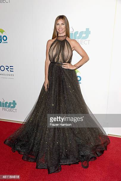 Actress Charisma Carpenter arrives at the 5th Annual Thirst Gala Hosted By Jennifer Garner In Partnership With Skyo And Relativity's 'Earth To Echo'...