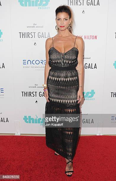 Actress Charisma Carpenter arrives at the 7th Annual Thirst Gala at The Beverly Hilton Hotel on June 13 2016 in Beverly Hills California