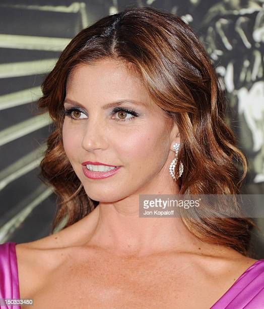 Actress Charisma Carpenter arrives at the Los Angeles Premiere The Expendables 2 at Grauman's Chinese Theatre on August 15 2012 in Hollywood...