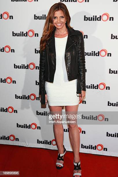 Actress Charisma Carpenter attends Alexandra Chando's BuildOn Charity Event at Aventine Hollywood on June 3 2013 in Hollywood California