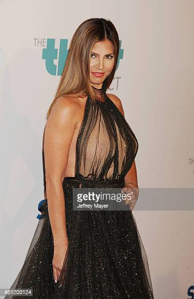 Actress Charisma Carpenter attends the 5th Annual Thirst Gala hosted by Jennifer Garner in partnership with Skyo and Relativity's 'Earth To Echo' on...