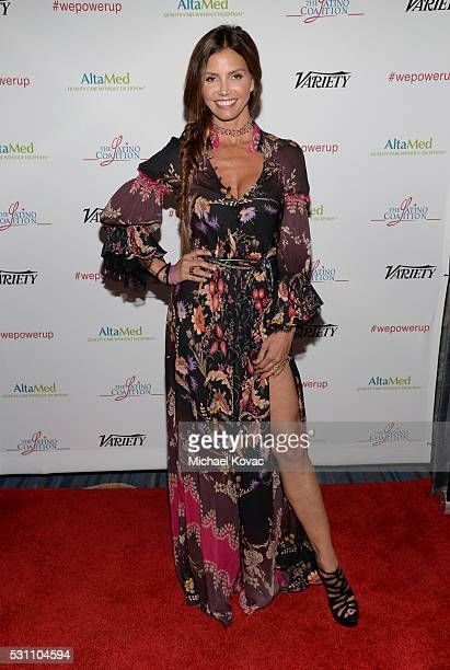 Actress Charisma Carpenter attends the AltaMed Power Up We Are The Future Gala at the Beverly Wilshire Four Seasons Hotel on May 12 2016 in Beverly...