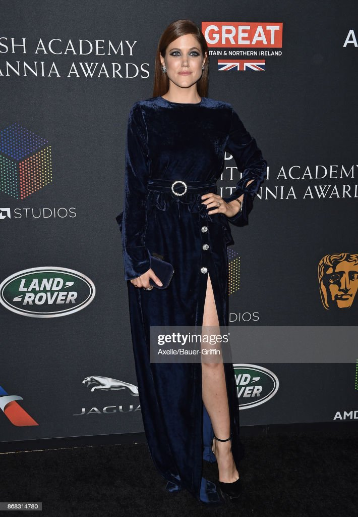 Actress Charity Wakefield arrives at the 2017 AMD British Academy Britannia Awards at The Beverly Hilton Hotel on October 27, 2017 in Beverly Hills, California.