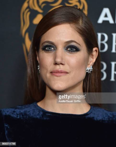 Actress Charity Wakefield arrives at the 2017 AMD British Academy Britannia Awards at The Beverly Hilton Hotel on October 27 2017 in Beverly Hills...