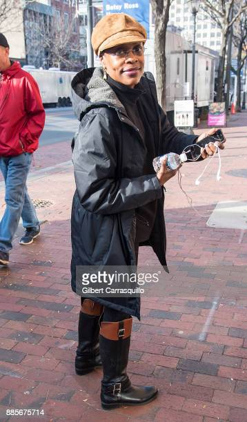 Actress Charlayne Woodard is seen on set of 'Glass' a sequel to M Night Shyamalan's thriller Unbreakable on December 4 2017 in Philadelphia...