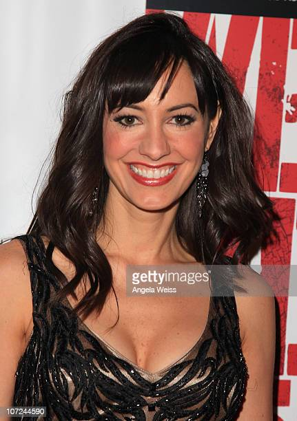 Actress Charlene Amoia attends the opening night of 'West Side Story' at the Pantages Theatre on December 1 2010 in Hollywood California