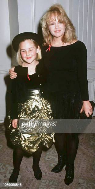 Actress Charlene Tilton and daughter Cherish Lee attend the 22nd Annual Nosotros Golden Eagle Awards at Beverly Hilton Hotel in Beverly Hills...