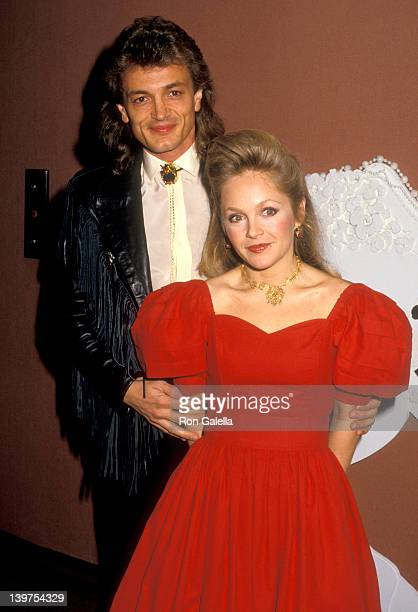 Actress Charlene Tilton and husband Domenick Allen attend the Starlight Starbright Children's Foundation's Starlight Wishes Musical Memories...
