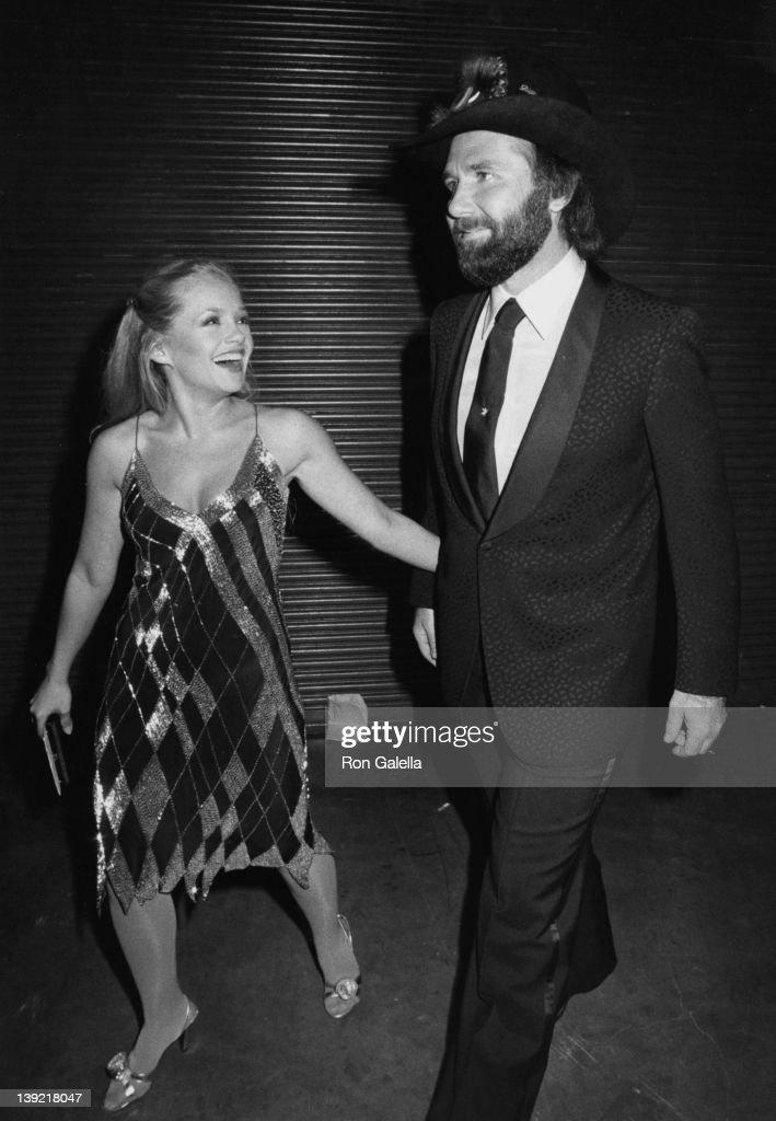 Actress Charlene Tilton And Singer Johnny Lee Attending