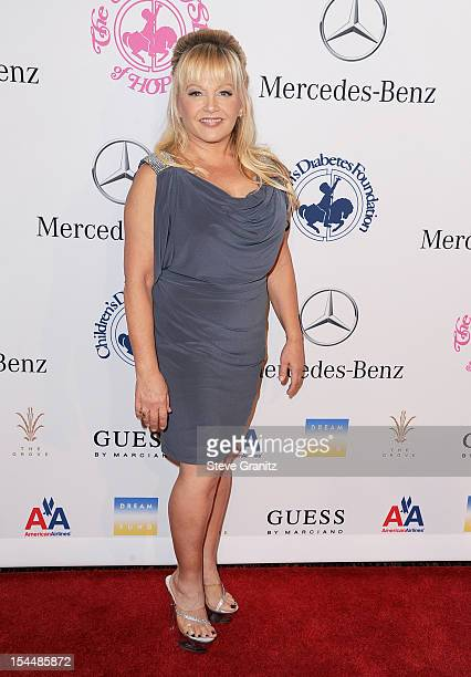 Actress Charlene Tilton arrives at the 26th Anniversary Carousel Of Hope Ball presented by MercedesBenz at The Beverly Hilton Hotel on October 20...