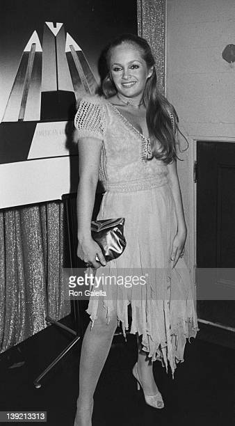 Actress Charlene Tilton attending First Annual American Video Awards on April 6 1983 at the Beverly Theater in Beverly Hills California