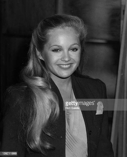 Actress Charlene Tilton attending the taping of 'Cerebral Palsy Telethon' on January 18 1981 at ABC TV Studios in Los Angeles California