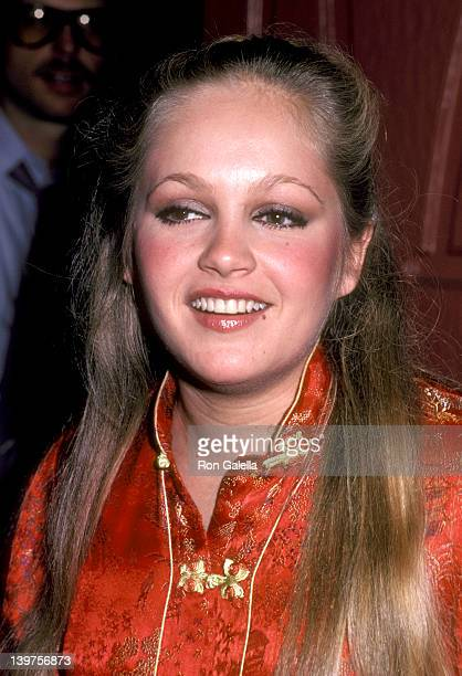 Actress Charlene Tilton attends Beverly Sassoon's Surprise Party for Erik Estrada's 32nd Birthday on March 7 1981 at Madame Wu's Restaurant in Santa...