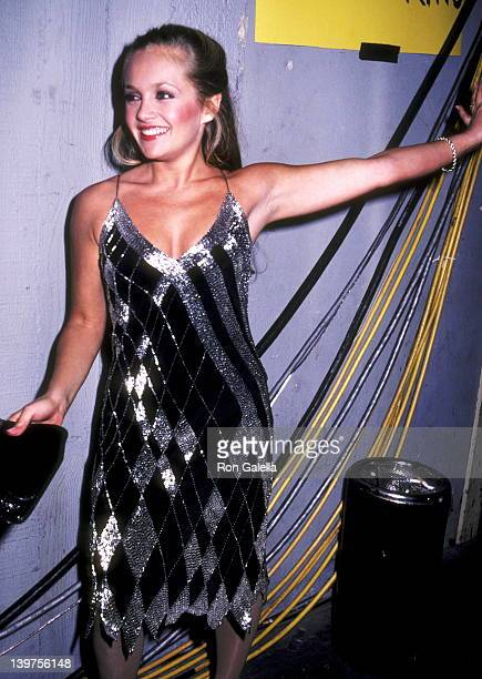 Actress Charlene Tilton attends the 10th Annual American Music Awards on January 17 1983 at Shrine Auditorium in Los Angeles California