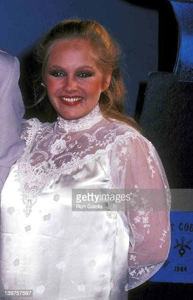 Actress Charlene Tilton attends the 17th Annual Academy of Country Music Awards on April 29 1982 at Knott's Berry Farm in Buena Park California