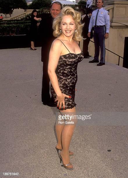 Actress Charlene Tilton attends the 1992 Primetime Creative Arts Emmy Awards on August 29 1992 at Pasadena Civic Auditorium in Pasadena California