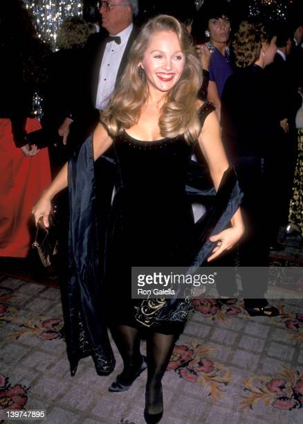 Actress Charlene Tilton attends the 34th Annual Thalians Ball on October 28 1989 at Century Plaza Hotel in Los Angeles California