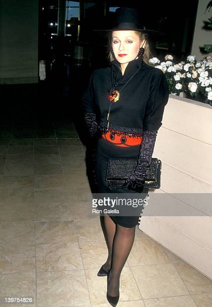 Actress Charlene Tilton attends the 'Collection at the Century' Gala Dinner and Auction to Benefit amfAR on May 7 1988 at Century Plaza Hotel in Los...