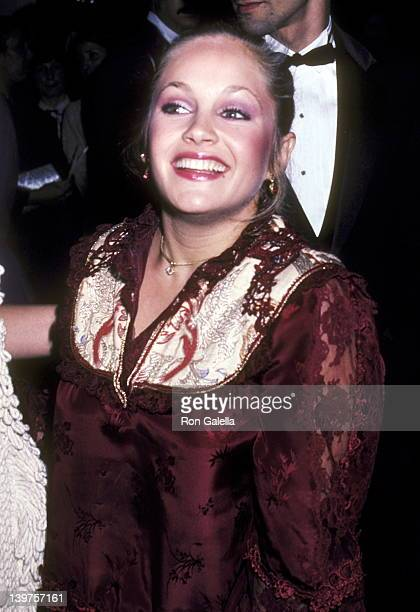 Actress Charlene Tilton attends the Eighth Annual People's Choice Awards on March 18 1982 at Santa Monica Civic Auditorium in Santa Monica California