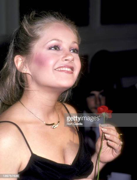 Actress Charlene Tilton attends the National Hockey League's 33rd Annual AllStar Dinner on February 9 1981 at Century Plaza Hotel in Los Angeles...