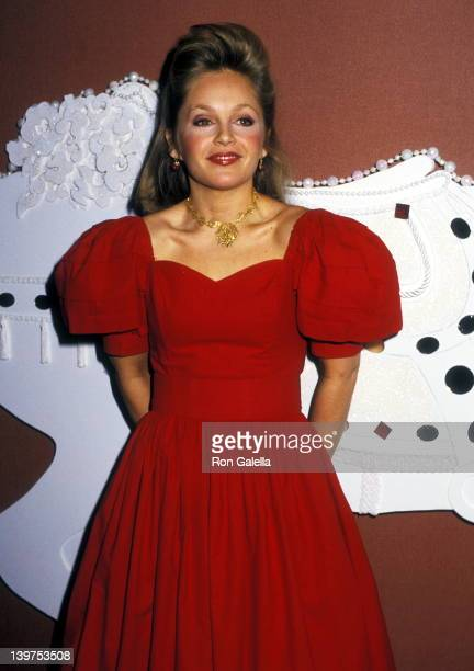 Actress Charlene Tilton attends the Starlight Starbright Children's Foundation's Starlight Wishes Musical Memories Valentine Dreams Gala Saluting...