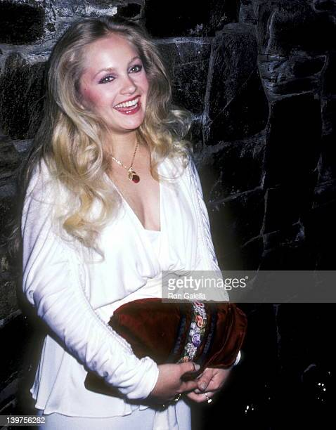 Actress Charlene Tilton attends the WrapUp Party for the Fourth Season of Dallas on April 11 1981 at The Cattle Baron Restaurant in Los Angeles...