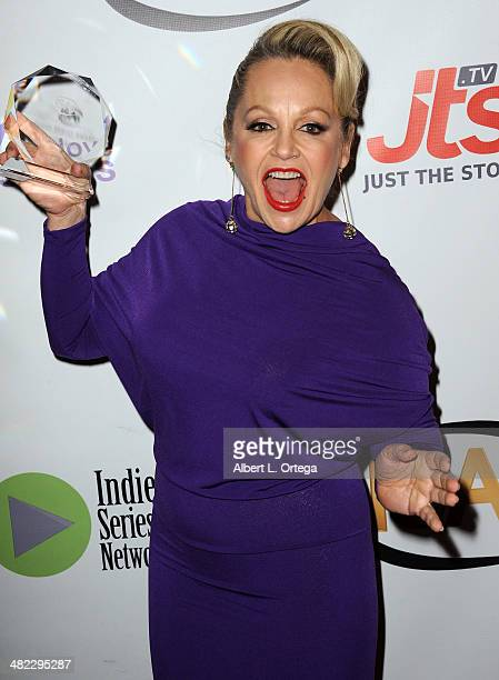 Actress Charlene Tilton Best Guest Star in a Drama from Devanity attends 5th Annual Indie Series Awards held at El Portal Theatre on April 2 2014 in...