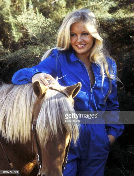 Actress Charlene Tilton on September 22 1979 spent the day ballooning at the Pluma Aircraft Corporation in Lancaster California