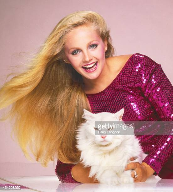 Actress Charlene Tilton poses for a portrait in 1983 in Los Angeles California