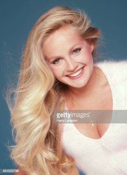 Actress Charlene Tilton Poses For A Portrait In 1983 In