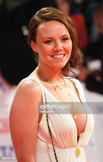 Actress Charlie Brooks arrives at the National Television Awards held at O2 Arena on January 20 2010 in London England