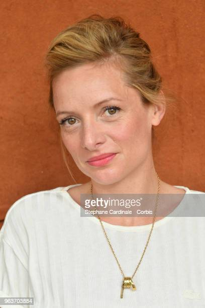 Actress Charlie Bruneau attends the 2018 French Open Day Four at Roland Garros on May 30 2018 in Paris France