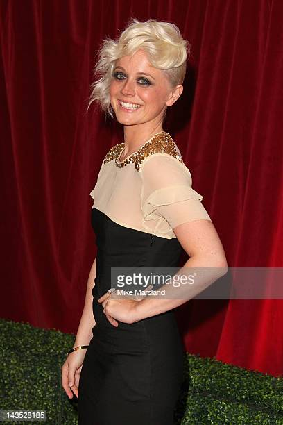Actress Charlie Clemmow attends the British Soap Awards at The London Television Centre on April 28 2012 in London England