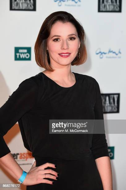 Actress Charlie Murphy attends the Birmingham Premiere of Peaky Blinders at cineworld on October 30 2017 in Birmingham England