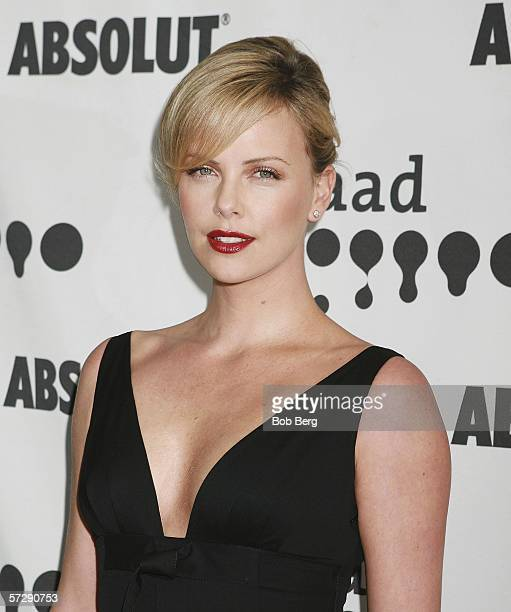 Actress Charlize Theron arrives at the 17th Annual GLAAD Media Awards on April 8 2006 at the Kodak Theatre in Hollywood California