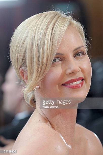 Actress Charlize Theron arrives at the 82nd Annual Academy Awards held at the Kodak Theatre on March 7 2010 in Hollywood California