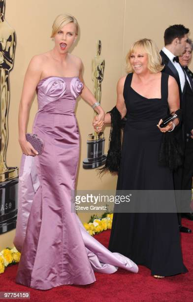 Actress Charlize Theron arrives at the 82nd Annual Academy Awards held at the Kodak Theatre on March 7, 2010 in Hollywood, California.