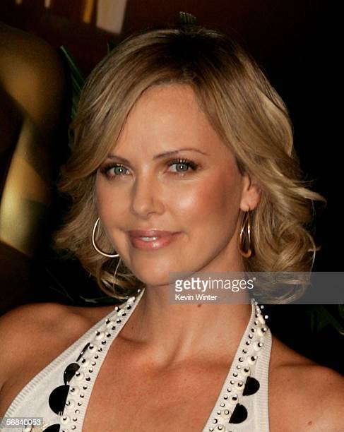 Actress Charlize Theron arrives at the Oscar Nominees Luncheon at the Beverly Hilton Hotel on February 13 2006 in Beverly Hills California