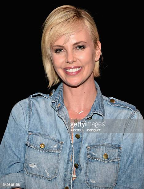 Actress Charlize Theron attends a reunion for 'Two Days In The Valley' at NeueHouse Hollywood on July 8 2016 in Los Angeles California