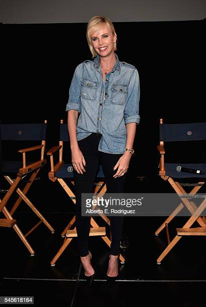 Actress Charlize Theron attends a reunion for Two Days In The Valley at NeueHouse Hollywood on July 8 2016 in Los Angeles California