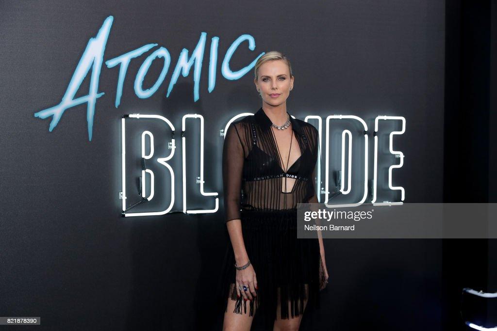 "Premiere Of Focus Features' ""Atomic Blonde"" - Arrivals : News Photo"