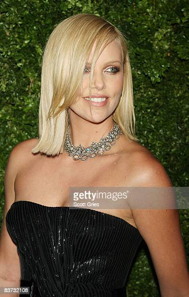 Actress Charlize Theron attends the 5th Anniversary of the CFDA/Vogue Fashion Fund at Skylight Studios on November 17, 2008 in New York City.