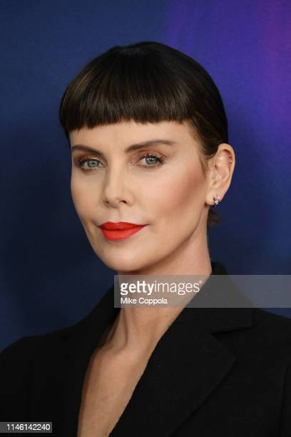 Actress Charlize Theron attends the Long Shot New York Premiere at AMC Lincoln Square Theater on April 30 2019 in New York City
