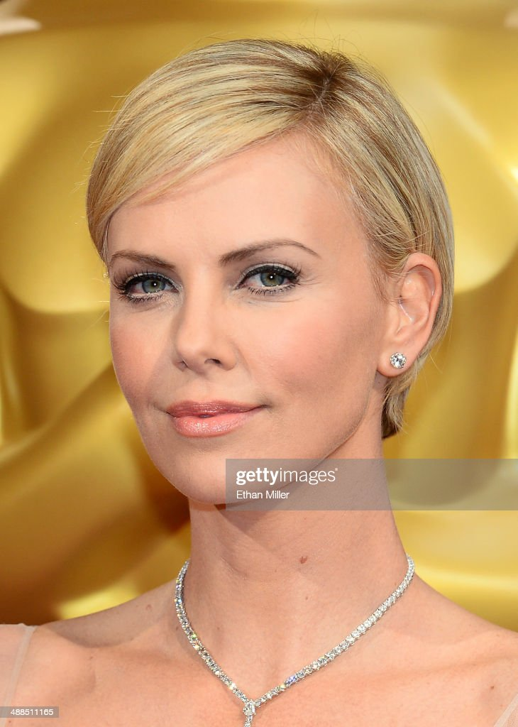 Actress Charlize Theron attends the Oscars held at Hollywood & Highland Center on March 2, 2014 in Hollywood, California.