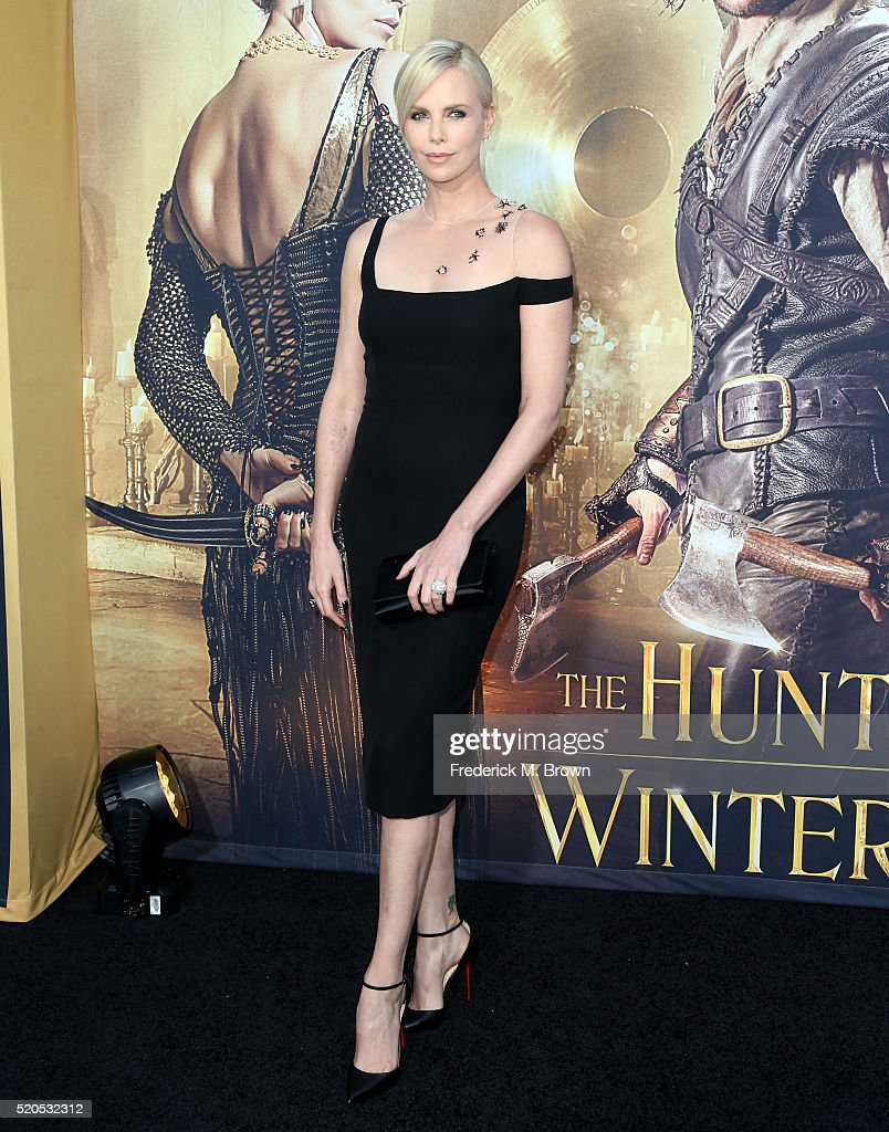 Actress Charlize Theron attends the premiere of Universal Pictures' 'The Huntsman: Winter's War' at the Regency Village Theatre on April 11, 2016 in Westwood, California.