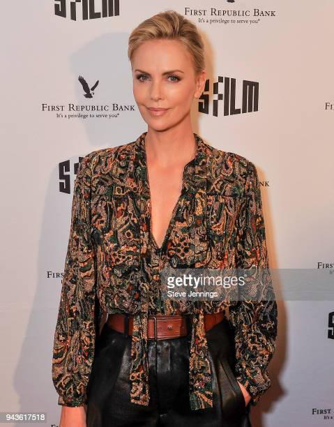 Actress Charlize Theron attends the San Francisco Film Festival for a Tribute on her film career and Premiere of her new film 'Tully' at the Castro...